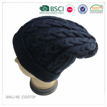 Câble tricot Long Beanie