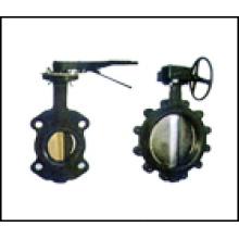Válvula de borboleta de linha central para ANSI