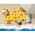 100% Polyester Outdoor Fashion Boys Girls Quick Fast Dry Beach Towel Surf Poncho Portable Traveltowels
