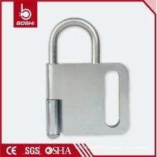 Interverrouillage du tampon de sabotage papillaire Tampon de verrouillage Hasp Lock BD-K32, verrouillage de sécurité oem avec certification CE ROHS