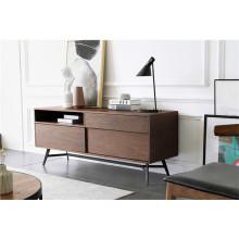 Mueble TV de madera estilo moderno