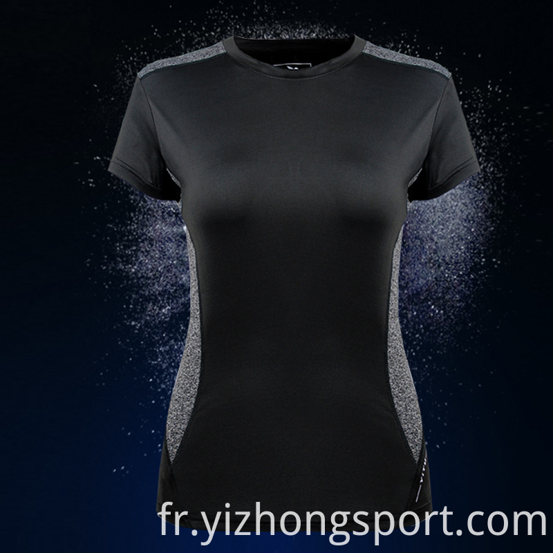 Dry Fit Womens T Shirt Jogging