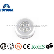 3 LED Push Light with multifunction