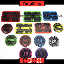 Crown Screen Poker Chip (YM-CP026-27)