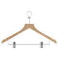Wooden Pants Hanger and Coat Hanger