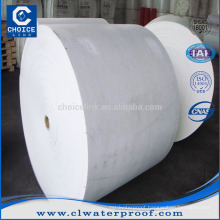 Needle punched polyester mat for SBS/APP bitumen waterproof membrane