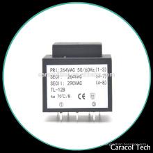 Fabricación de baja frecuencia 50 / 60Hz 12.0V transformador ei48