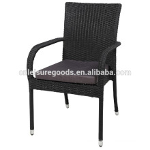 2013 fashion outdoor cheap stacking wicker chair