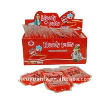 Novelty Funny Small Blood Bag Putty Smile Toys