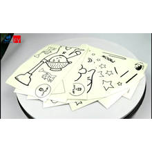 Excellent quality luminous label top sales glow in the dark sticker