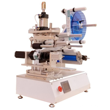 Table Top Manual Labeling Machine For Square Bottle