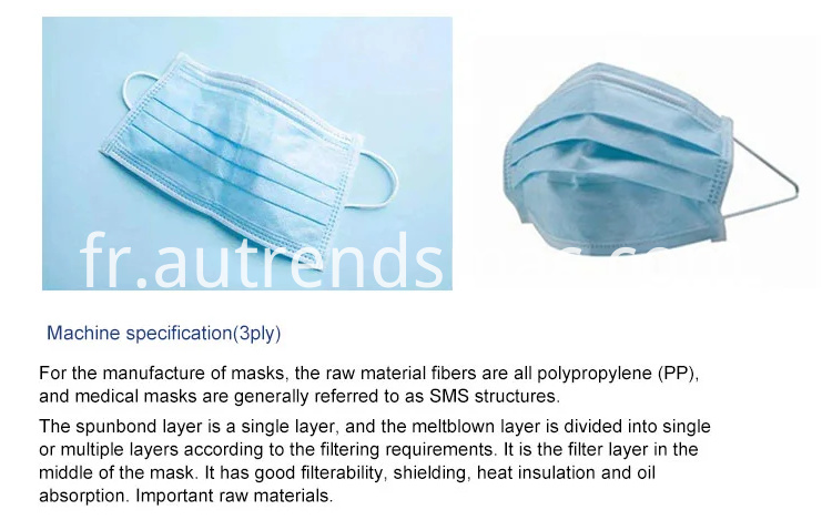 Medical Surgical Mask Machine
