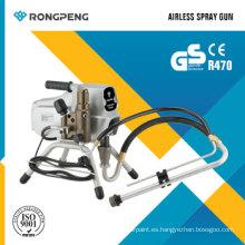 Pulverizador de pintura sin aire Rongpeng R470