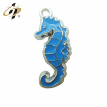 Cheap Customized Promotional sea horse metal charms and pendants