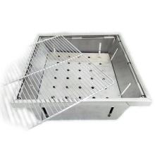BBQ002 china mini portátil ao ar livre grelhador a carvão para churrasco