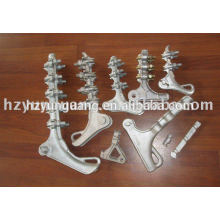 cable clamp tension clamp wire clip power overhead line aluminum alloy hardware fitting electric line substation hardware