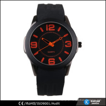 Relógio ocidental watch relógios de silício homens, quartzo relógio sr626sw