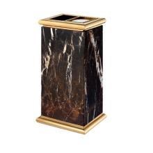 Titanium Lobby Use Trash Bin with Ashtray (YW0057)