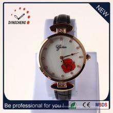 Reloj de la aleación del reloj de las señoras del reloj de cuarzo del reloj de la promoción (DC-1368)