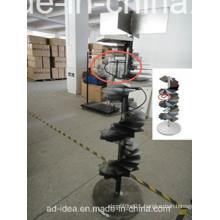 Rotating Tower Quartz Stone Metal Rack