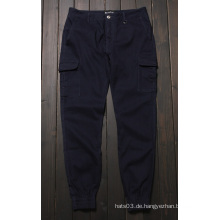 Lässige Jogger Hosen Big Pockets Plain Hosen