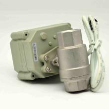 Vanne d'arrêt d'eau à commande électrique NSF61-G avec commande manuelle pour vanne à bille d'eau potable (T15-S2-B)