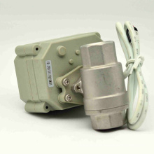 NSF61-G Electric Control Water Shut off Valve with Manual Operation for Drinking Water Ball Valve (T15-S2-B)