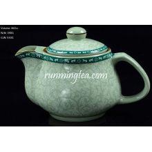 Tang Cao (Diseño de flores de la dinastía Tang) Té Pot-460cc inserto de acero