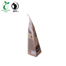 Biodegradable Standup 500g Chocolate Pouch with Zipper
