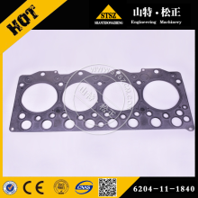 Head gasket 6204-11-1840 WA70-5 komatsu wheel loader parts