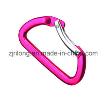 D Shape Aluminum Alloy Springcarabiner Hook Clip Dr-Z0084