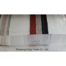 New Popular Project Stripe Organza Voile Sheer Curtain Fabric 0082130