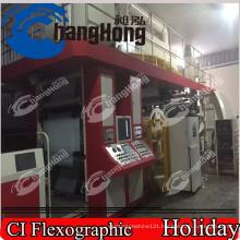 Serviette Flexo Printing Machine/8 Colors Centrtal Drum Flexo Printing Machine