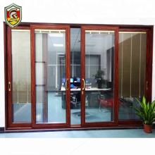 Soundproof double insulated glazing sliding door pictures living room aluminium door