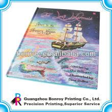 Пользовательские цветной печать новейшего искусства стиль флип книга