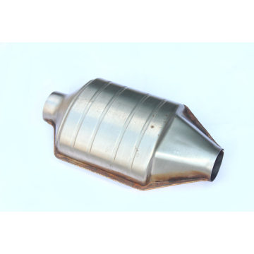 Bentuk Oval Keramik Hi-Flow Performance Catalytic Converter