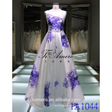 Plian dyed sash Blue And White Porcelain Sash Elegant Satin Prom Dress Evening Dress Wedding Dress