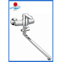 Single Handle Wall Mounted Kitchen Mixer Water Faucet (ZR21903-A)