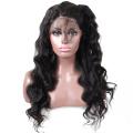 """Горячие продажи 8А класс 100% девы человеческих волос полный парик шнурка бразильский человеческий волос натуральный черный натуральная волна 8 """"-26"""""""