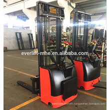 1ton 1.2ton 1.5ton Electric Stacker DC motor economical narrow legs or stacker straddle legs