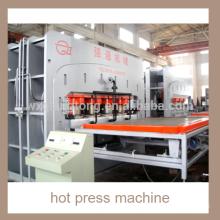Semi-auto short cycle hot press machine/ chipboard laminating hot press machine