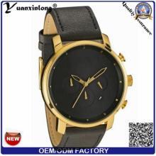 YXL-381 мода Мужская Новый стиль дамы часы золото покрытием кожа элегантный Vogue часовым кварцевые часы
