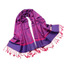 Best Selling Paisley pattern Jaquard Stole Long Hijab Wrap Ladies Tippet