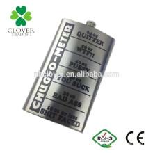 64oz stainless steel laser welding hip flask