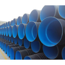 large diameter plastic corrugated culvert HDPE drainage pipe