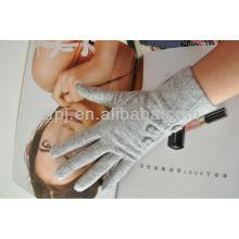 Ladies Winter Cashmere Glove Leather