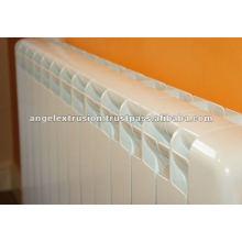 Extrusion d'aluminium pour radiateur de chauffage