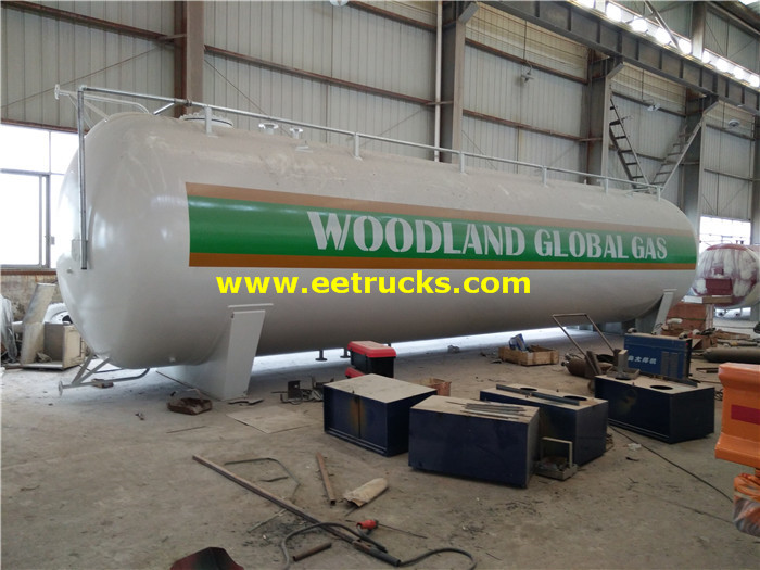 50ton Bulk Domestic LPG Tanks