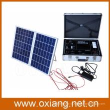 Multifunciton Солнечной Системы Домашнего Освещения Портативный Солнечный Генератор Солнечной Энергии