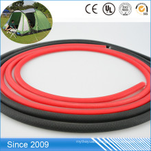 Waterproof And Easy To Rises Plastic PVC Coated Round Leash Rope